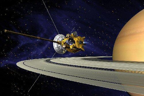 01 500 カッシーニと土星
