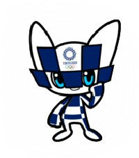 04a 200 TokyoOlympic mascot