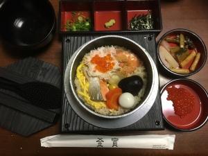 海鮮五目釜飯
