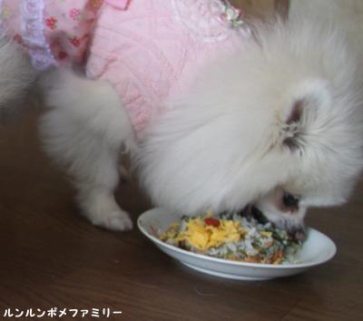 瑠妃 ((美^~^味))モグモグ♪