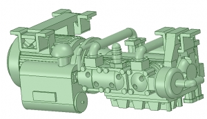C-0301 C2500L型コンプ タイプA -2