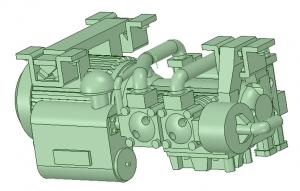 C-0401 C1500L型コンプ タイプA -2