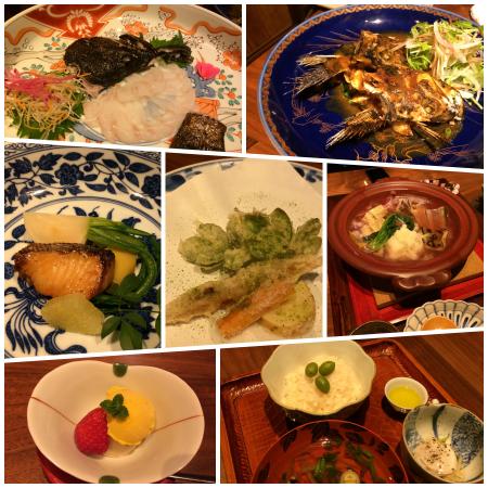 真里夕食2