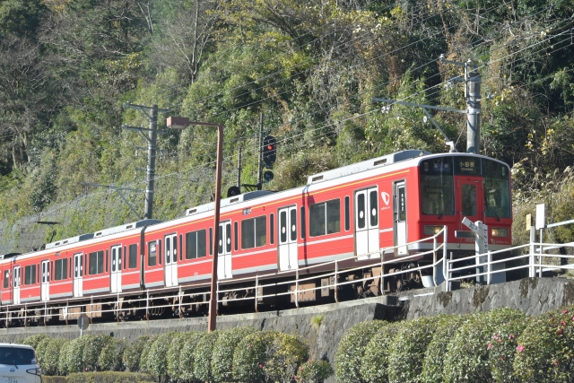 小田急 赤い車両20171203