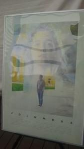 ↓『コロンバス』ポスター