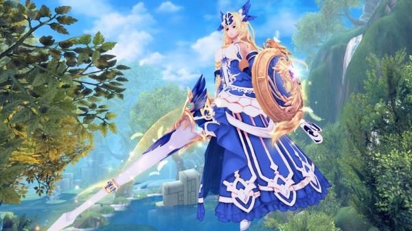 基本プレイ無料のアニメチックファンタジーオンラインゲーム、幻想神域、幻紳奇譚に「オリポスの戦乙女・アテナ編」を追加~♪