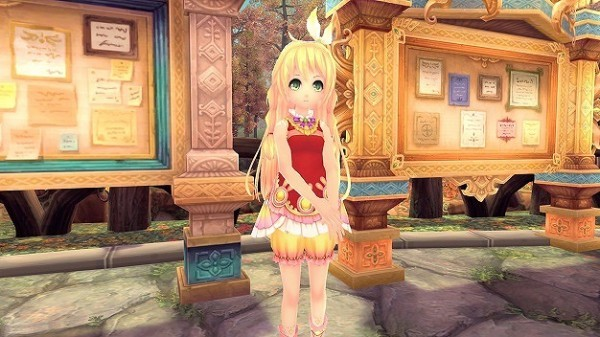 アニメチックファンタジーオンラインゲーム『幻想神域』 獲得経験値が2倍になる「ミオラ掲示板イベント」を開催したよ~!!