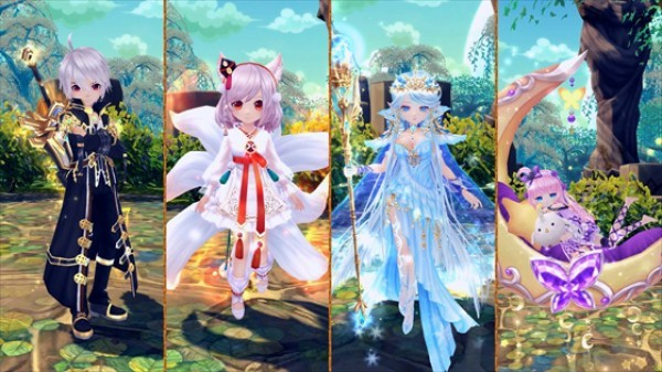 クロスジョブファンタジーMMORPG『星界神話』 次週3月20日に新たな星霊「ノア」の星霊クエストが登場するよ~!!