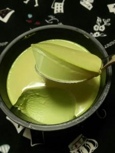 抹茶ショコラプリン