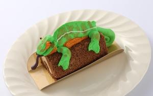 カメレオンケーキ