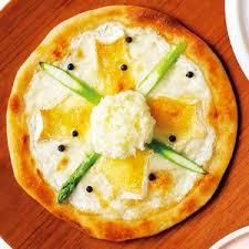 横市チーズたっぷり春の雪どけピッツァ