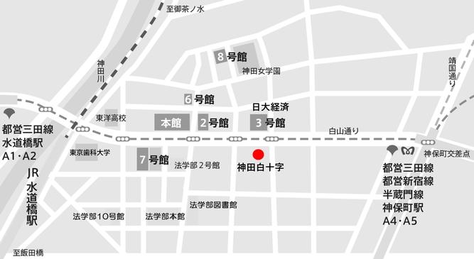神田白十字地図2