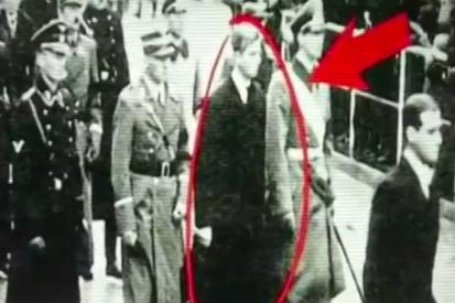 英王室ナチス行進