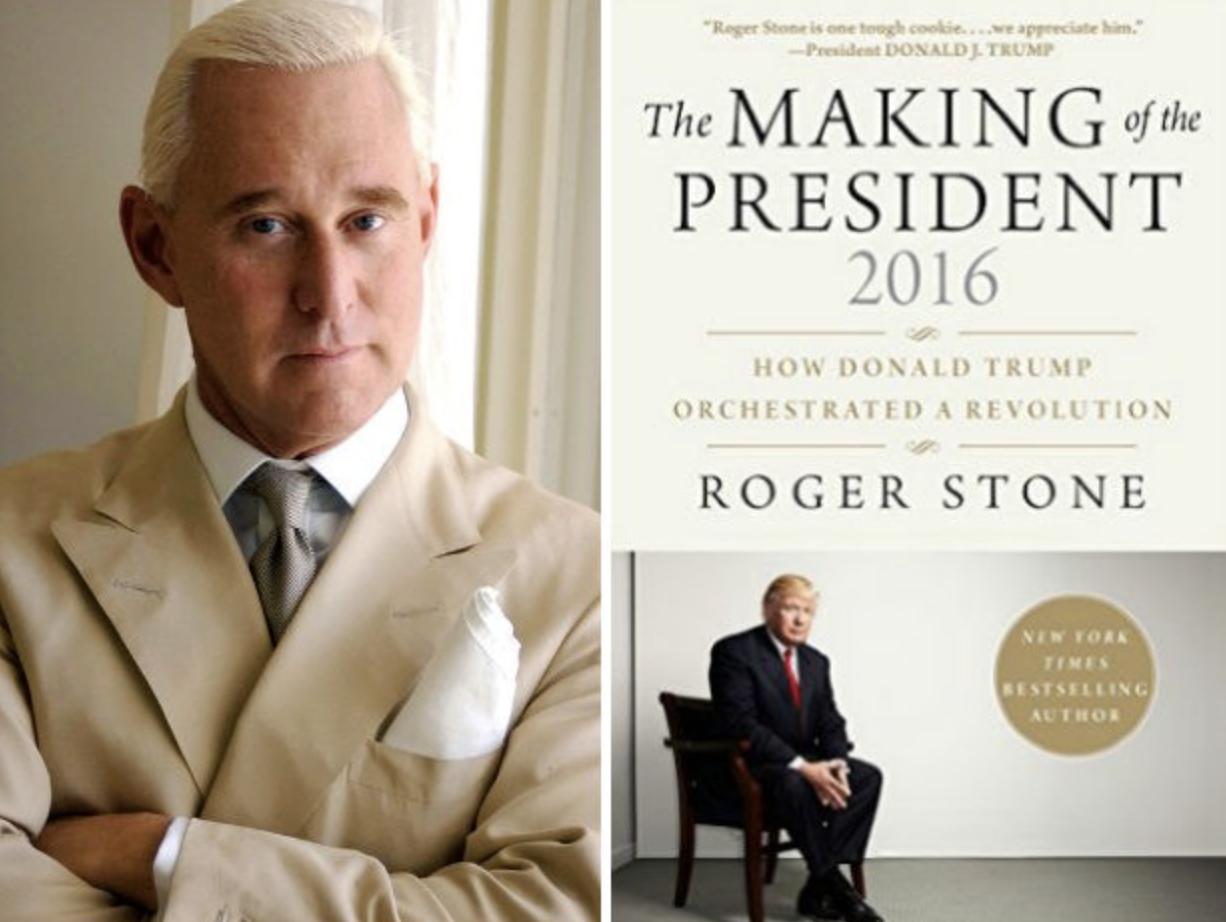 ロジャー・ストーンの著書