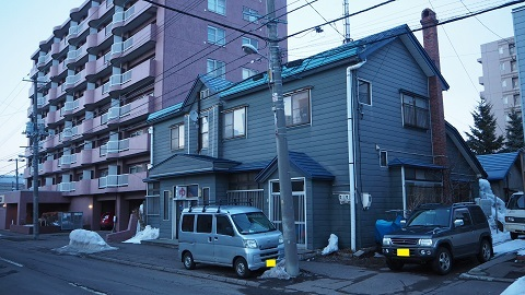 札幌市中央区の銭湯 鶴の湯