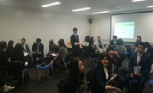 千代田区主催ハラールセミナー_グループワーキングの模様