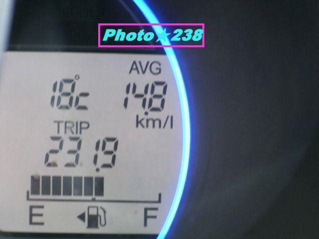 0303出かけの燃費。
