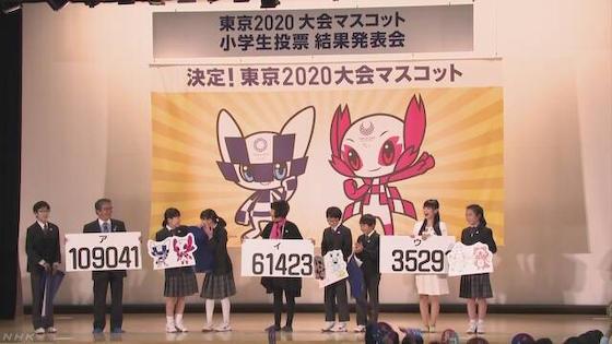 東京五輪 マスコット 小学生