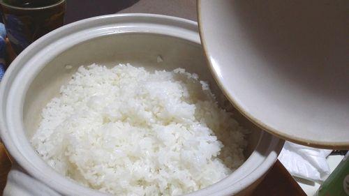 土鍋ごはんを炊いて