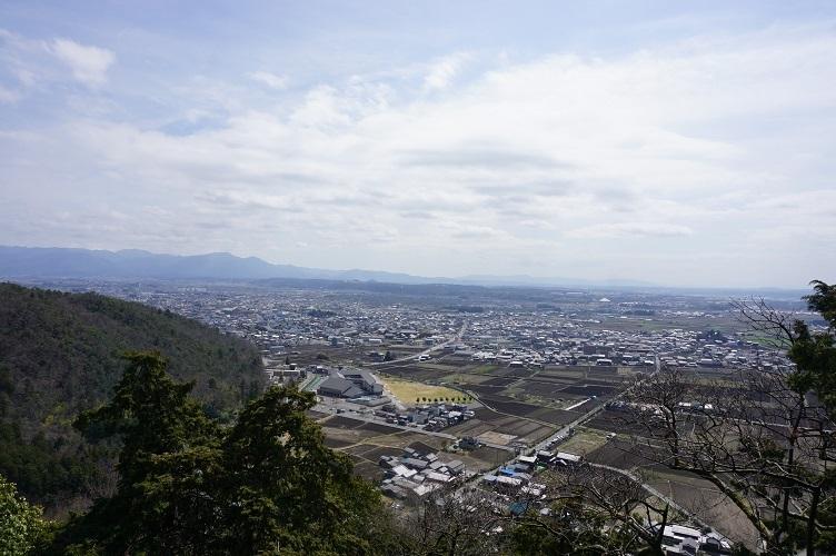 太郎坊宮からの景色