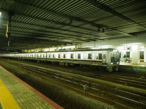 JR西日本 321系 電車【京都駅】