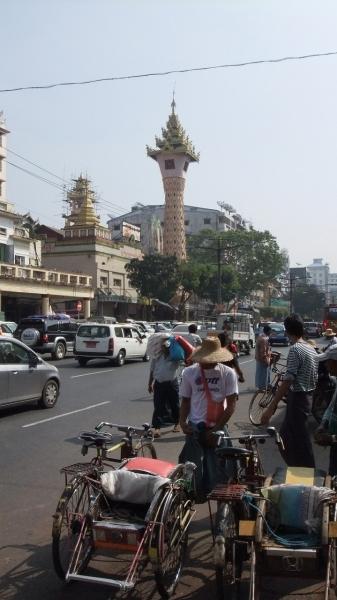 ヤンゴン ダウンタウン1
