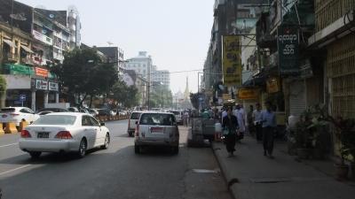 ヤンゴン ダウンタウン2 (2)