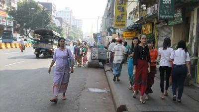 ヤンゴン ダウンタウン2 (3)