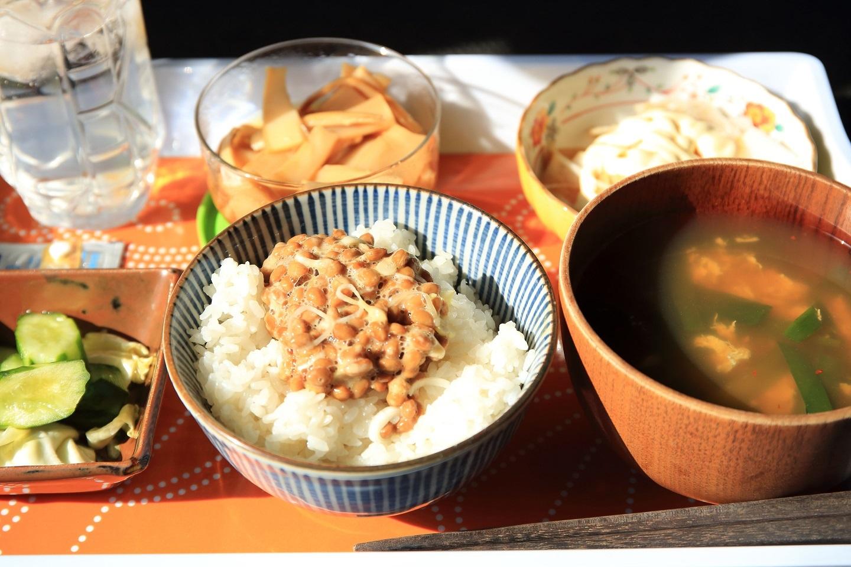 ブログ 朝日を浴びる朝食.jpg