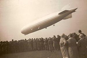 飛行船のグラーフ・ツェッペリン