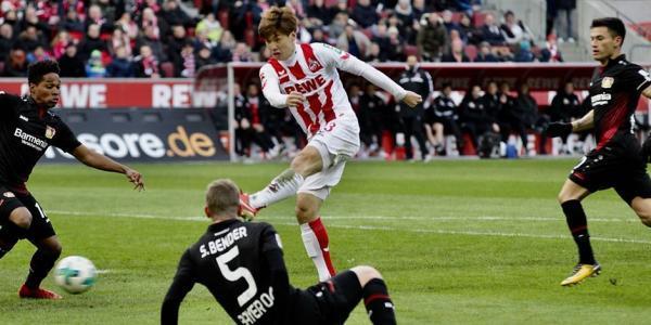Köln_2-0_Leverkusen_osako_goal_mom