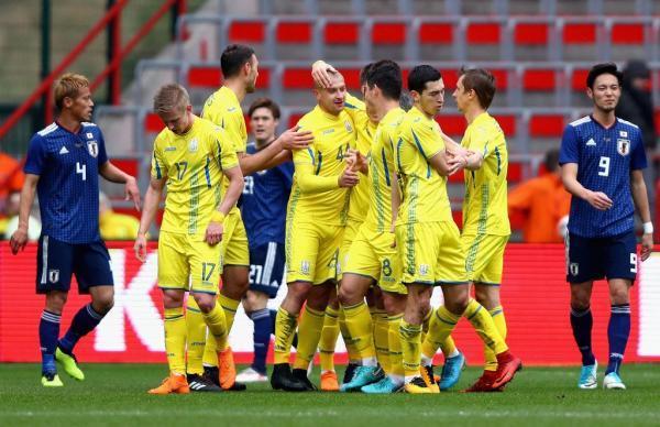 Japan 1- 2 Ukraine
