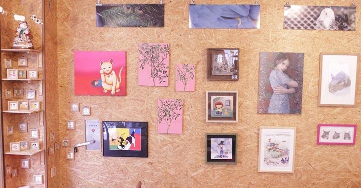 絵画展と販売