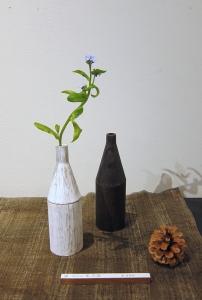 ボトル型花器-8640