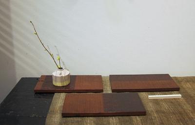 敷板 柿渋拭漆チーク-5400