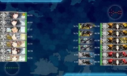 艦これ 2018年冬イベント E-2 Y