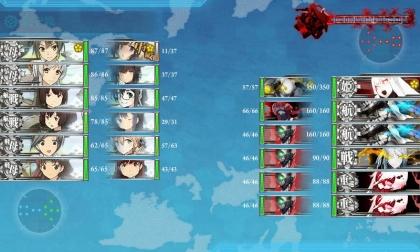 艦これ 2018年冬イベント E-3 U (最終戦)