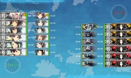 艦これ 2018年冬イベント E-4 R (最終戦)