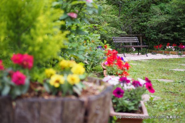 富士屋ホテル 庭園 イングリッシュガーデン