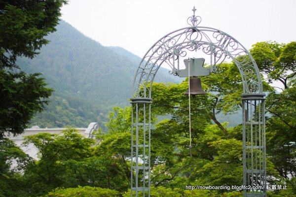 鐘 富士屋ホテル 庭園