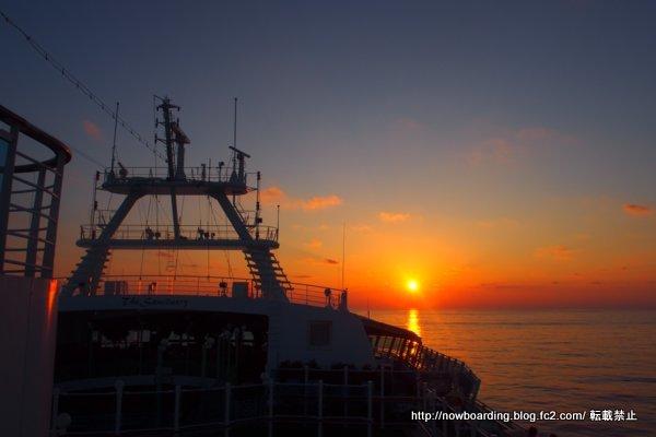 クルーズ旅行 豪華客船 女子旅で見た夕日
