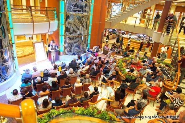 美術 絵画の船内オークション ダイヤモンドプリンセス乗船ブログ
