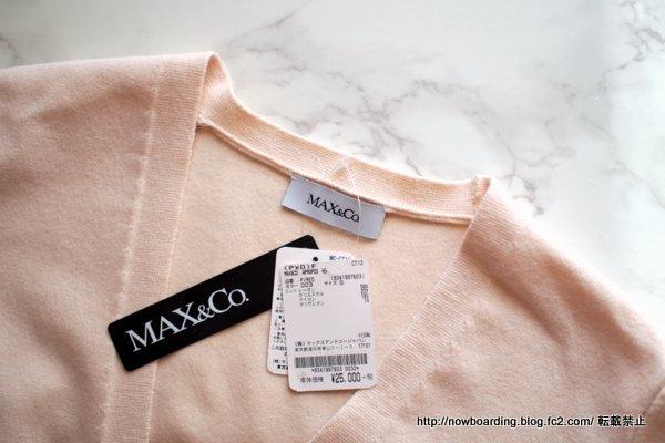 MAX&Co. .カーディガン