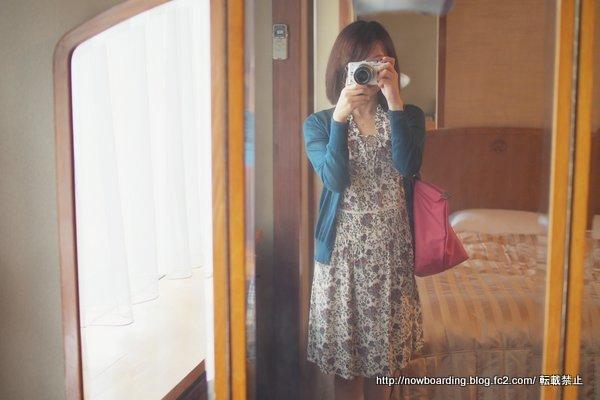 5月の箱根旅行ファッションブログ 富士屋ホテルに宿泊する時の服装 コントワーデコトニエファッションブロガー