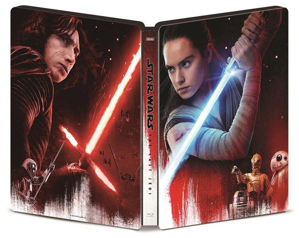 スター・ウォーズ/最後のジェダイ プレミアムBOX スチールブック Star Wars: The Last Jedi steelbook