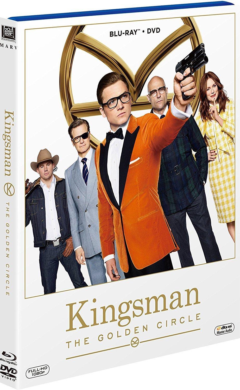 キングスマン:ゴールデン・サークル スチールブック steelbook