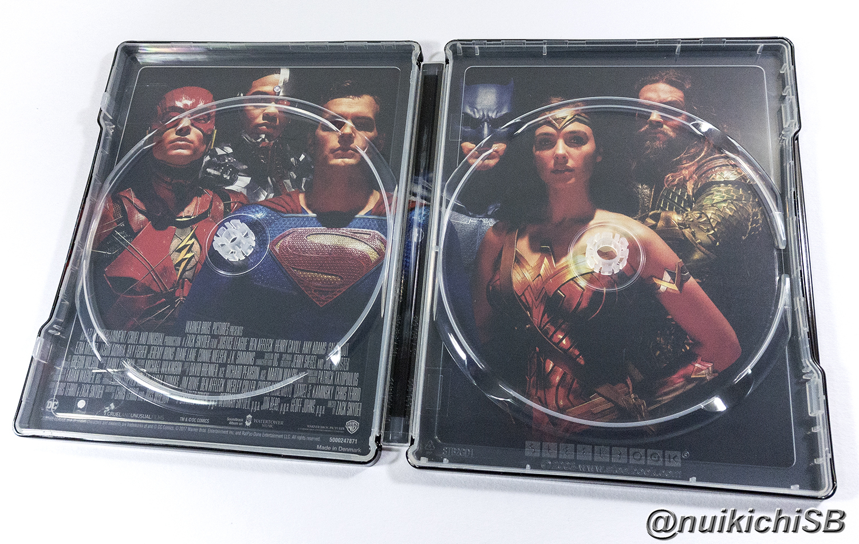 Justice League France Fnac 4K Ultra HD steelbook ジャスティス・リーグ フランス スチールブック
