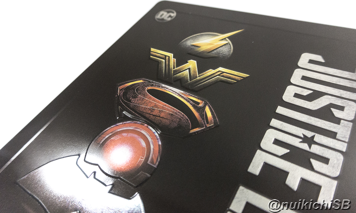Justice League Amazon.it Italy steelbook ジャスティス・リーグ イタリア スチールブック