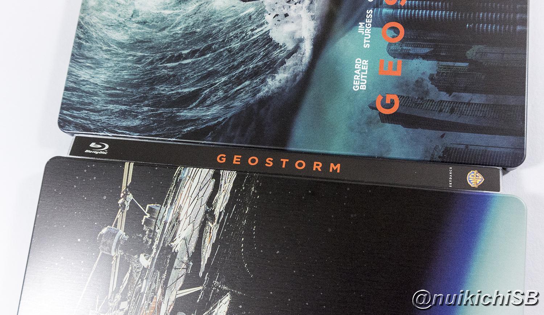 ジオストーム スチールブック Geostorm France steelbook