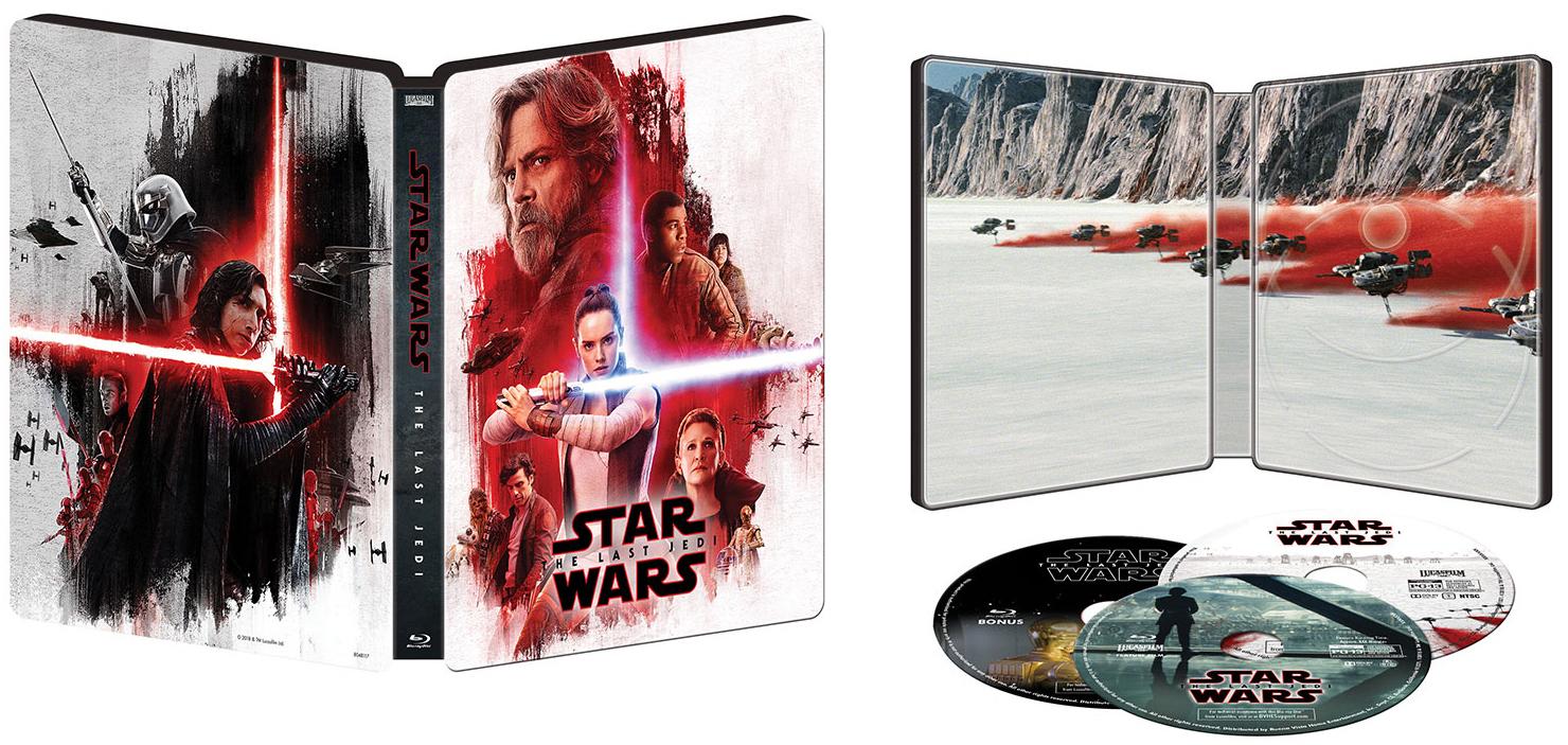 スター・ウォーズ/最後のジェダイ BEST BUY限定 スチールブック Star Wars: The Last Jedi best buy steelbook
